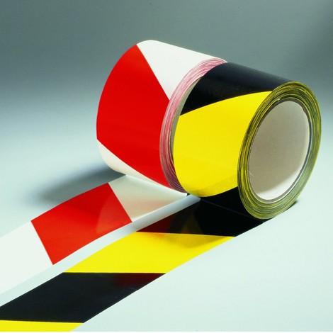 Warning marking tape, non-reflective