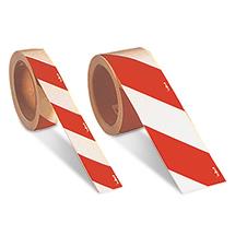 Warnmarkierungsband, langnachleuchtend, rechts-/linksweisend