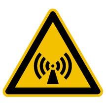 Warnschild – Warnung vor elektromagnetischem Feld