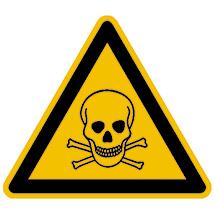 Warnschild Warnung vor gefährlichen Stoffen D-W003