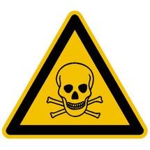 Warnschild – Warnung vor giftigen Stoffen