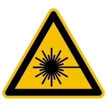 Warnschild – Warnung vor Laserstrahl