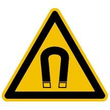 Warnschild – Warnung vor magnetischem Feld
