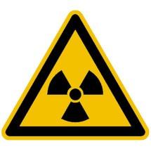 Warnschild – Warnung vor radioaktiven Stoffen
