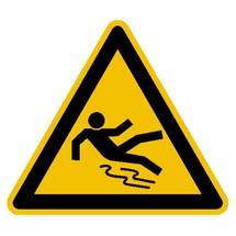 Warnschild – Warnung vor Rutschgefahr