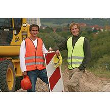 Warnschutz-Weste mit Reflexstreifen, EN ISO 20471:2013, Klasse 2