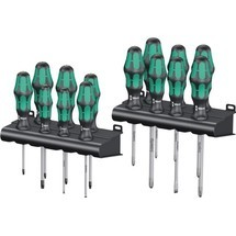 WERA Schraubendrehersatz Kraftform Big Pack 300, 16-tlg.