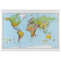 Wereldkaart FRANKEN