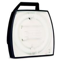 Werklamp met 4-voudige contactdoos