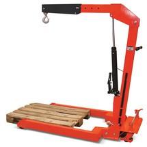 Werkplaatskranen, parallel. Capaciteit 1000 kg