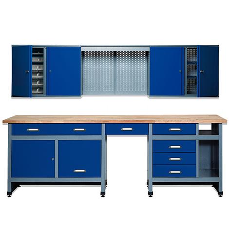 Werkstatt-Set Bern 2-teilig. Breite 2400 mm