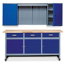 Werkstatt-Set Elm 2-teilig. Breite 1700 mm