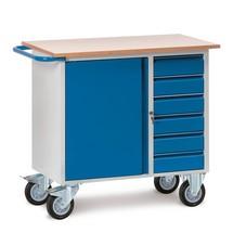 Werkstattwagen fetra®, Schrank + Schubladen