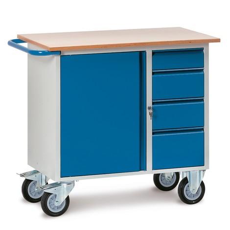 werkstattwagen fetra schrank schubladen. Black Bedroom Furniture Sets. Home Design Ideas