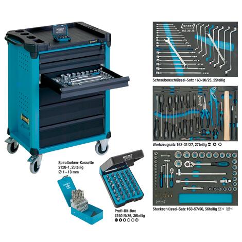 Werkstattwagen HAZET ® Assistent® inklusive 169 Profi-Werkzeugen