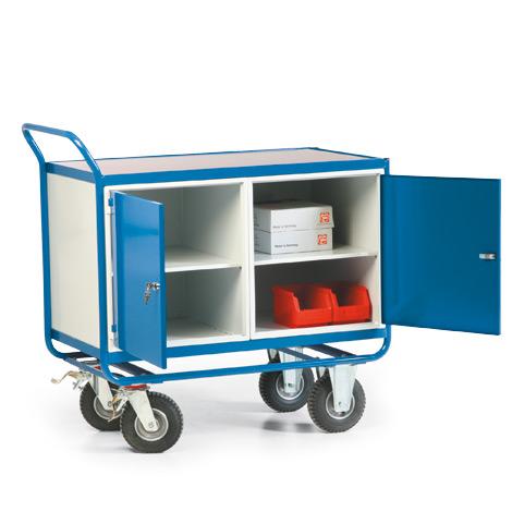 Werkstattwagen mit 2 Schränken. Tragkraft 300 kg