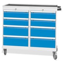 Werkstattwagen mit 2 x 4 Schubladen