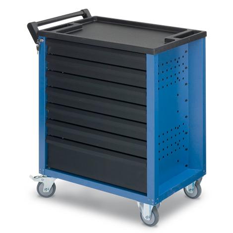 Werkstattwagen mit 7 Schubladen. Tragkraft pro Schublade 20kg