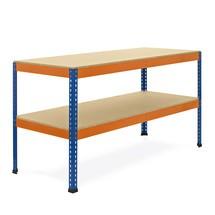 Werktafel met 2 niveaus