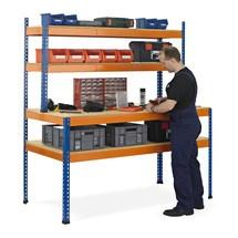 Werktafel SCHULTE met opbouw