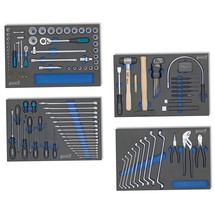 Werkzeug-Grundsortiment HAZET®, 117-teilig