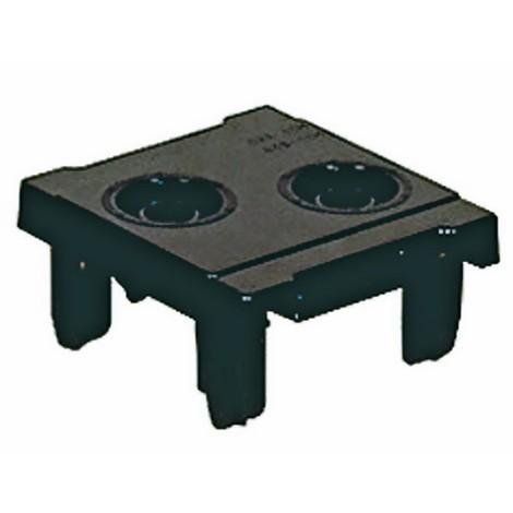 Werkzeugeinsatz für CNC-Lagersysteme mit 2 Aufnahmen, Breite 99 mm