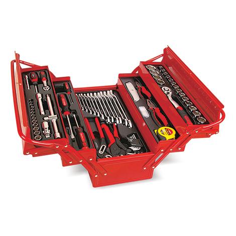 Werkzeugkiste Komfort, befüllt