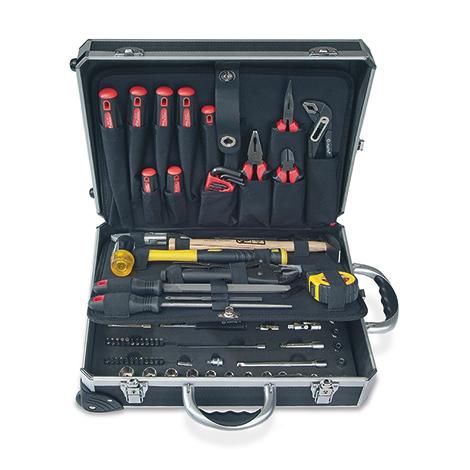 Werkzeugkoffer, befüllt, 134-teilig
