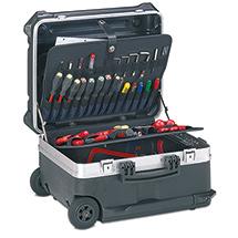 Werkzeugkoffer mit Rollen aus HDPE-Kunststoff