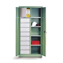 Werkzeugschrank C+P, Schubladen 4x86 + 4x174 mm, 6 Böden, Breite 1.200 mm
