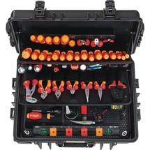 Werkzeugsortiment für Elektriker im Schutzkoffer, 115-tlg.