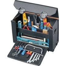Werkzeugtasche aus Rindleder
