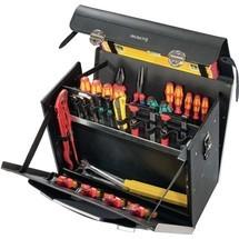 Werkzeugtasche aus Rindleder, 33 Liter, HDPEAlu-verstärkt