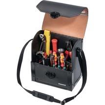 Werkzeugtasche aus Rindsleder, 17 Einsteckfächer