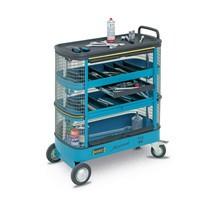 Werkzeugwagen HAZET® Assistent®, mit Gitterverkleidung