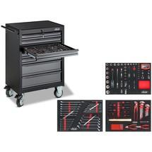 Werkzeugwagen VIGOR® 500N, inkl. Werkzeugsortiment