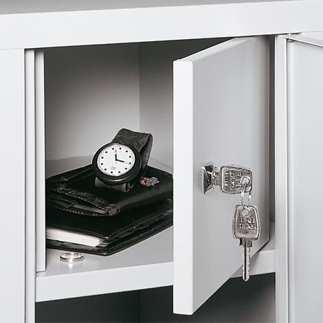 Wertfach innen für Garderobenschrank Belüftungslochfeld, 300 und 400mm