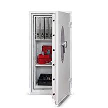 Wertschutzschrank mit 60 min Feuerschutz. Höhe 67 bis 133,6 cm
