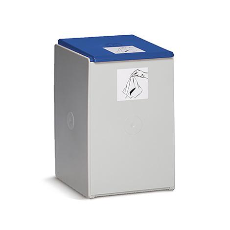 Wertstoff-Sammelbehälter aus Kunststoff. 40 - 60 Liter, 1-fach