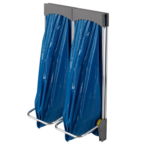 Wertstoffsammelsystem, 1 bis 3 x 120 Liter, hängend