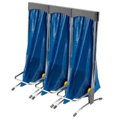 Wertstoffsammelsystem, 1 bis 3 x 120 Liter, stehend