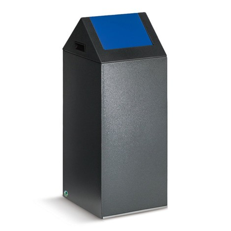Wertstoffsammler VAR®, 60 Liter, selbstlöschend, aus verzinktem und pulverbeschichtetem Stahl