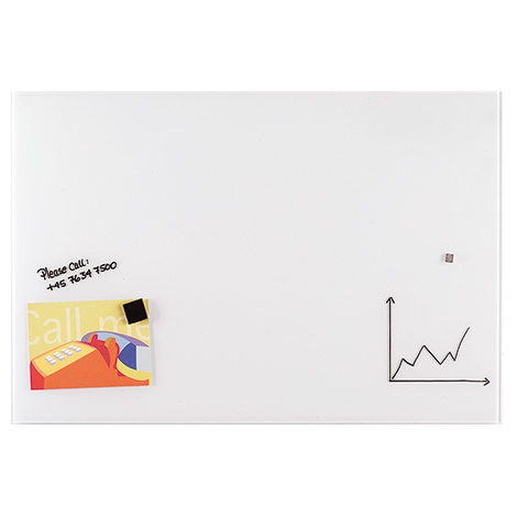 Whiteboard Glastafel Premium