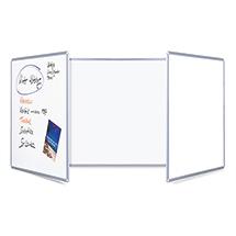 Whiteboard klappbar. Mit 2 Tafelflügeln. Größe 600 x 900/1800 mm