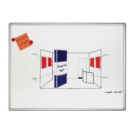Whiteboard Pro. Größe bis 1200 x 1800  mm