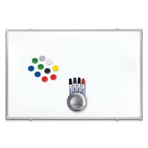 Whiteboard-Set. Größe 900 x 1200  mm