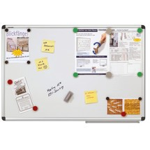 Whiteboard X-tra! Line. Afmetingen tot 900 x 1200 mm