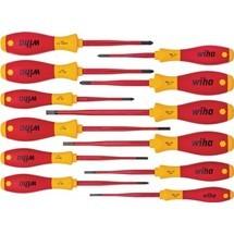 WIHA Schraubendrehersatz 3201 K12 SoftFinish gemischt, 12-tlg.