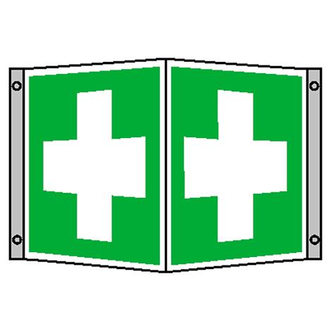 Winkelschild Erste Hilfe
