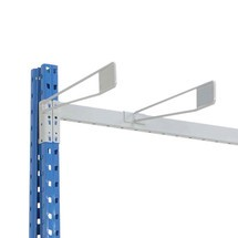 Wire separator for vertical rack